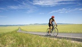 Largos tramos de caminos sin los molestos semáforos son lo mejor que le puede pasar a un ciclista.