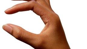 Problemas en las articulaciones de los dedos de las manos.