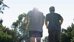 Los corredores veteranos deben tener objetivos de tiempo de millas que sean apropiados para su edad.
