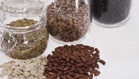 Los frijoles son una buena fuente de hidratos de carbono, ya que también proporcionan proteínas.
