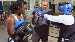 Sin la percepción de profundidad, boxear puede ser imposible.