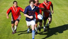 El rugby tradicional requiere muy poco equipo.