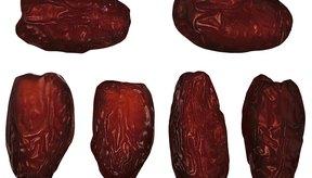 Los dátiles contienen altas cantidades de fructosa.