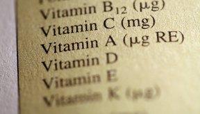 Las vitaminas A, D y E son liposolubles y se miden en unidades internacionales.