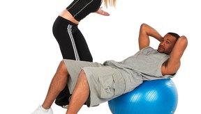 Asegúrate de que tu cuerpo está en la línea de la cabeza a las rodillas o los pies.