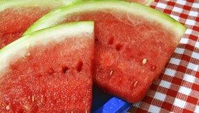 La sandía contiene muchas vitaminas y otros nutrientes.