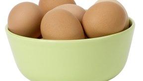 Los huevos son una fuente natural de L-lisina.