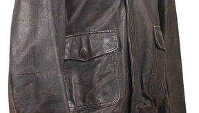 Reparar chaqueta de cuero reseca
