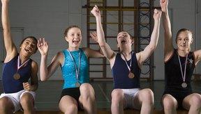 La gimnasia requiere fuerza y poder, lo cual se desarrolla mediante el acondicionamiento.