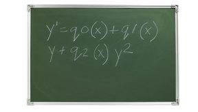 Las fórmulas disponibles.