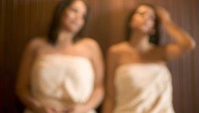 En el sauna, se puede perder hasta 1 libra a través del sudor.