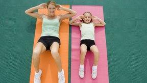 Los ejercicios que se dirigen a los oblicuos sólo se pueden hacer en mucha cantidad.
