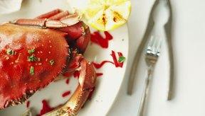 El cangrejo tiene colesterol, pero eso no es generalmente una preocupación importante.