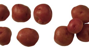 Las patatas rojas mantienen su forma después de la cocción.