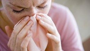 Muchas personas sufren dolor en los senos nasales.