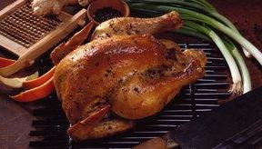 El pollo asado tiene un alto contenido de nitrógeno.