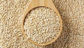 La quinoa es un pseudocereal que se produce a lo largo de la cordillera de los Andes.