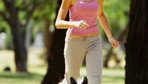 Muchas personas activas usan ejercicios, como trotar, para contrarrestar su ingesta calórica.