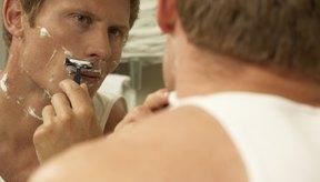 Evita afeitarte hasta que la irritación por el afeitado se haya curado.