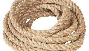 Las cuerdas de acondicionamiento vienen en varios tamaños.