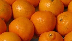 Las naranjas contienen varios tipos de ácidos.