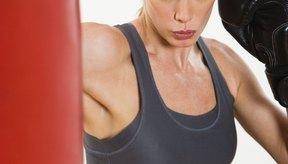 Un saco de boxeo debe tener algo de movimiento para un ejercicio total.