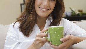 El té blanco de menta tiene un sabor suave y delicado.