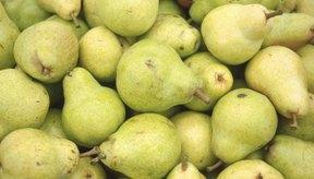 Se cree que las peras se remontan a la Edad de Piedra.