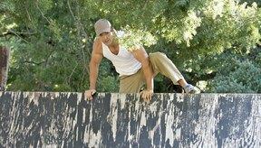 Los ejercicios correctos te prepararán para que escales con éxito un alto muro.
