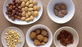 Las nueces contienen proteína, que es necesaria para desarrollar músculo.