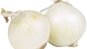 Las cebollas pueden contribuir a la acidez.