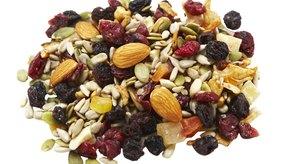 Las semillas de chía son buenas para la salud por su contenido de fibra.