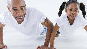 Usa ejercicios de peso corporal primero.