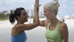 Usa un sostén deportivo de buena calidad para proteger los senos durante el ejercicio.