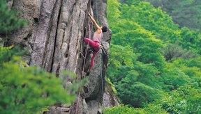 La escalada de roca es un excitante y desafiante deporte.