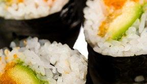 El alga nori es un ingrediente común en el sushi.