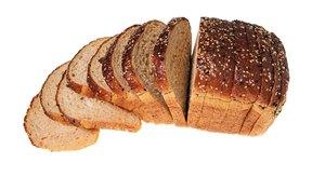 Comprueba los ingredientes de tu pan de grano entero para asegurarte de que no contiene azúcar añadido.