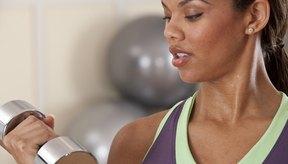 Las mancuernas son muy efectivas en el desarrollo de la fuerza del codo ya que se pueden usar para un gran número de ejercicios para el antebrazo y músculos del brazo superior.