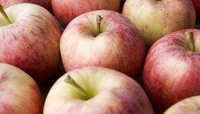 Las manzanas están bajas en el índice glicémico.