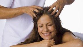 Masaje para el cuero cabelludo.