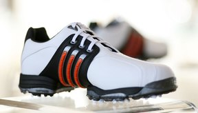 Los zapatos de golf Adidas están presentes en el PGA Tour.