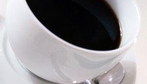 El café negro puede aumentar la glucosa en sangre.