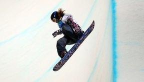 Shaun White compitiendo para los Estados Unidos en los Olímpicos de 2010.