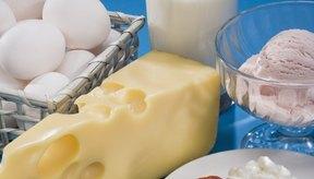 Los cereales enriquecidos, la leche y otros productos diarios son fuentes de vitamina D.