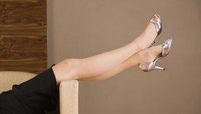 Podrás arreglar tus zapatos de tacones altos con productos domésticos comunes.