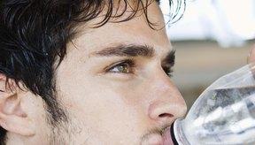 Tienes sed después de hacer ejercicio para reponer los líquidos perdidos.