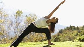 Las posturas de yoga te ayudan a ser más flexible.