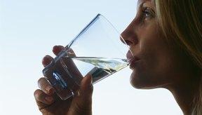 Bebe sólo agua potable.