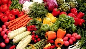 Los vegetales son ricos en una variedad de nutrientes.