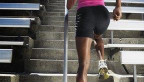 El ejercicio cardiovascular quema la grasa cerca de las rodillas.